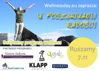 program wellness w poszukiwaniu radości